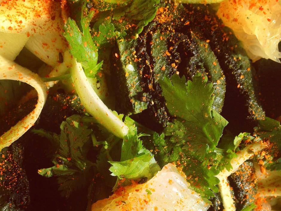 Paleo-Spirulina-Egg-Rolls-Courgette-Ceviche