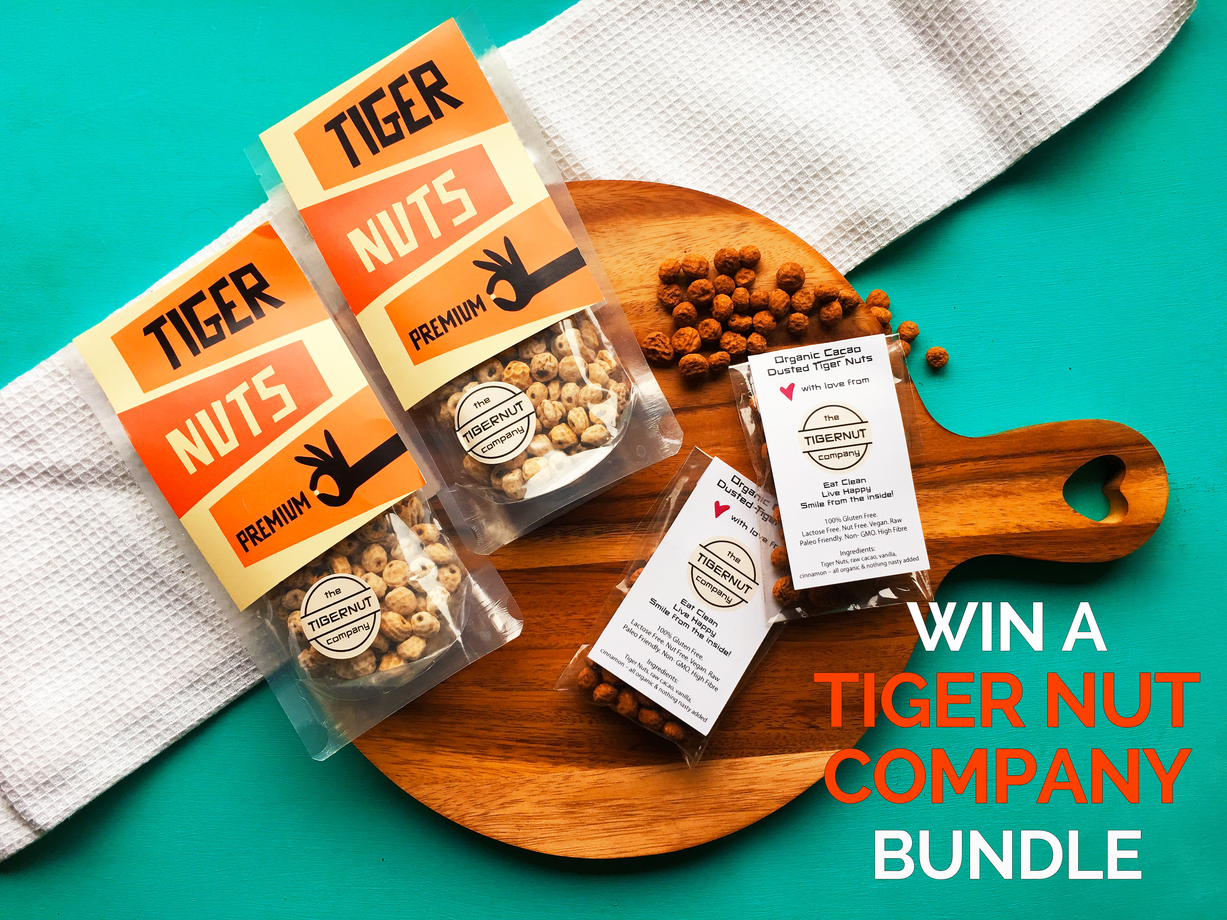 Tiger Nut Company Giveaway