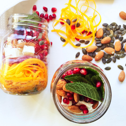 butternut-squash-pomegranate-and-feta-mason-jar-salad-39