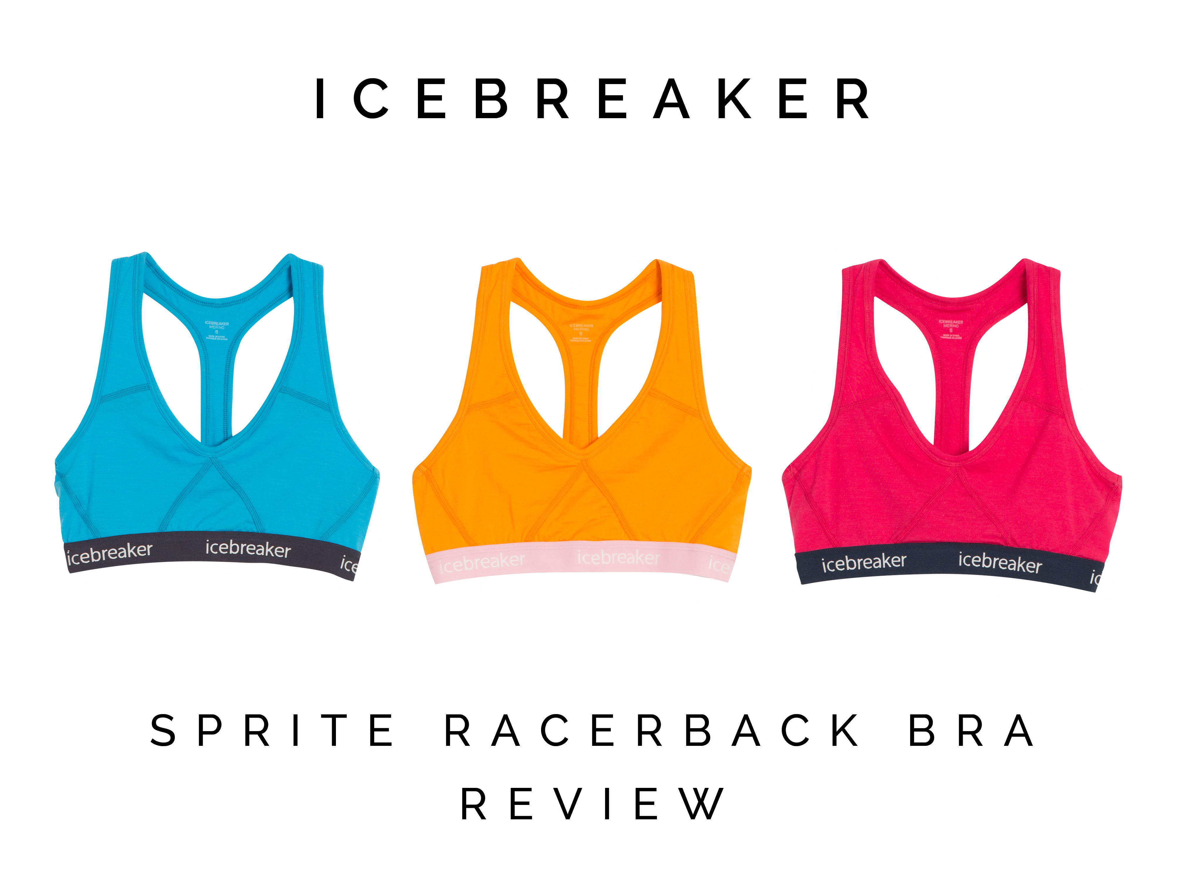 53dbac0b9d Icebreaker Sprite Racerback Bra Review