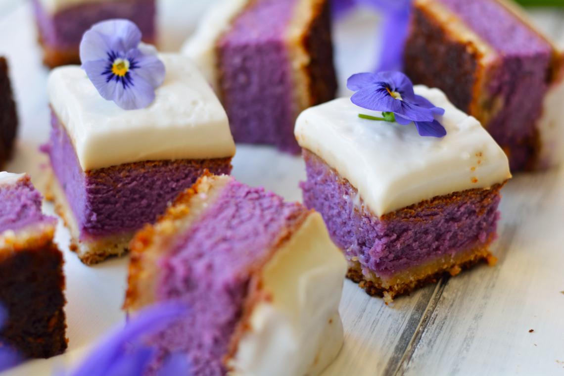 Purple Sweet Potato Haupia Pie Gluten Free Paleo Vegetarian