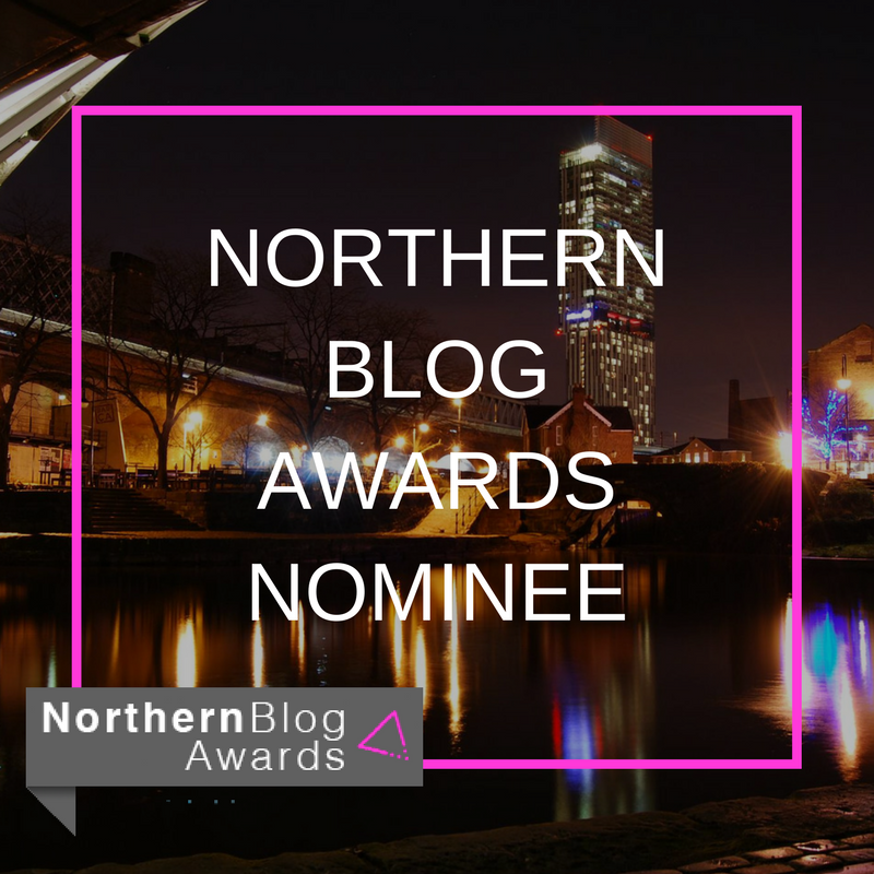 Northern Blog Awards Nominee