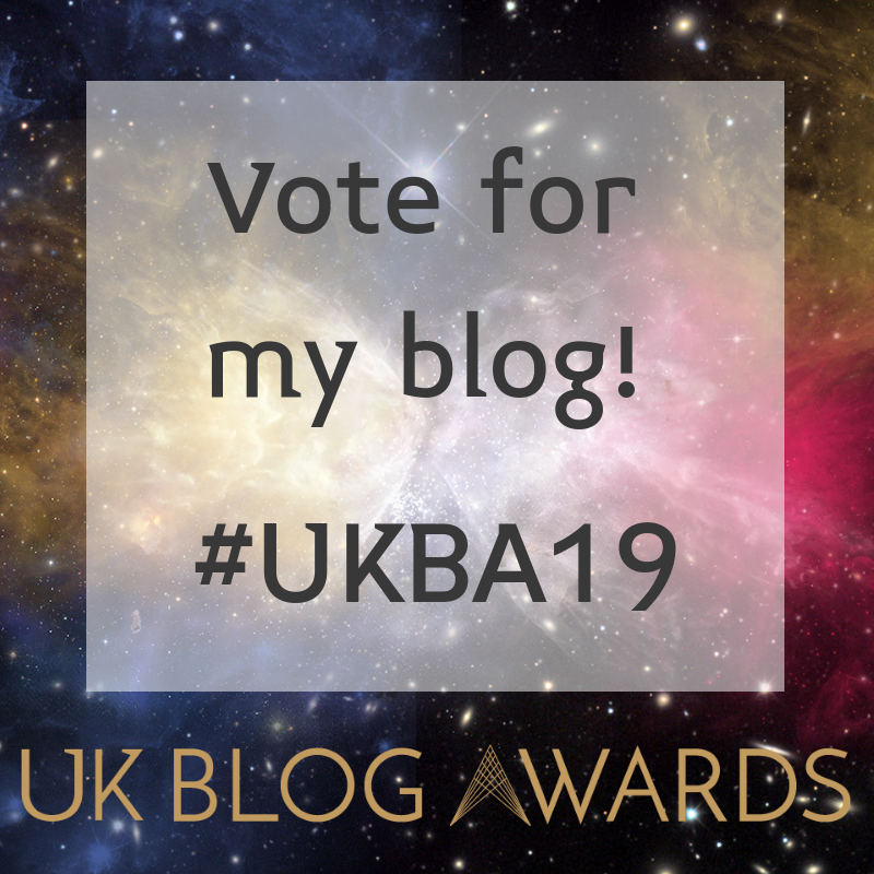UK Blog Awards 2019 - Shortlisted
