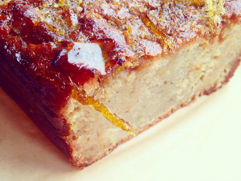 Earl Grey And Lemon Drizzle Cake