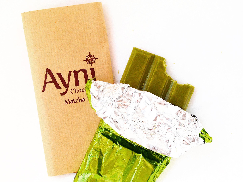 Ayni Chocolate Matcha Bar Review